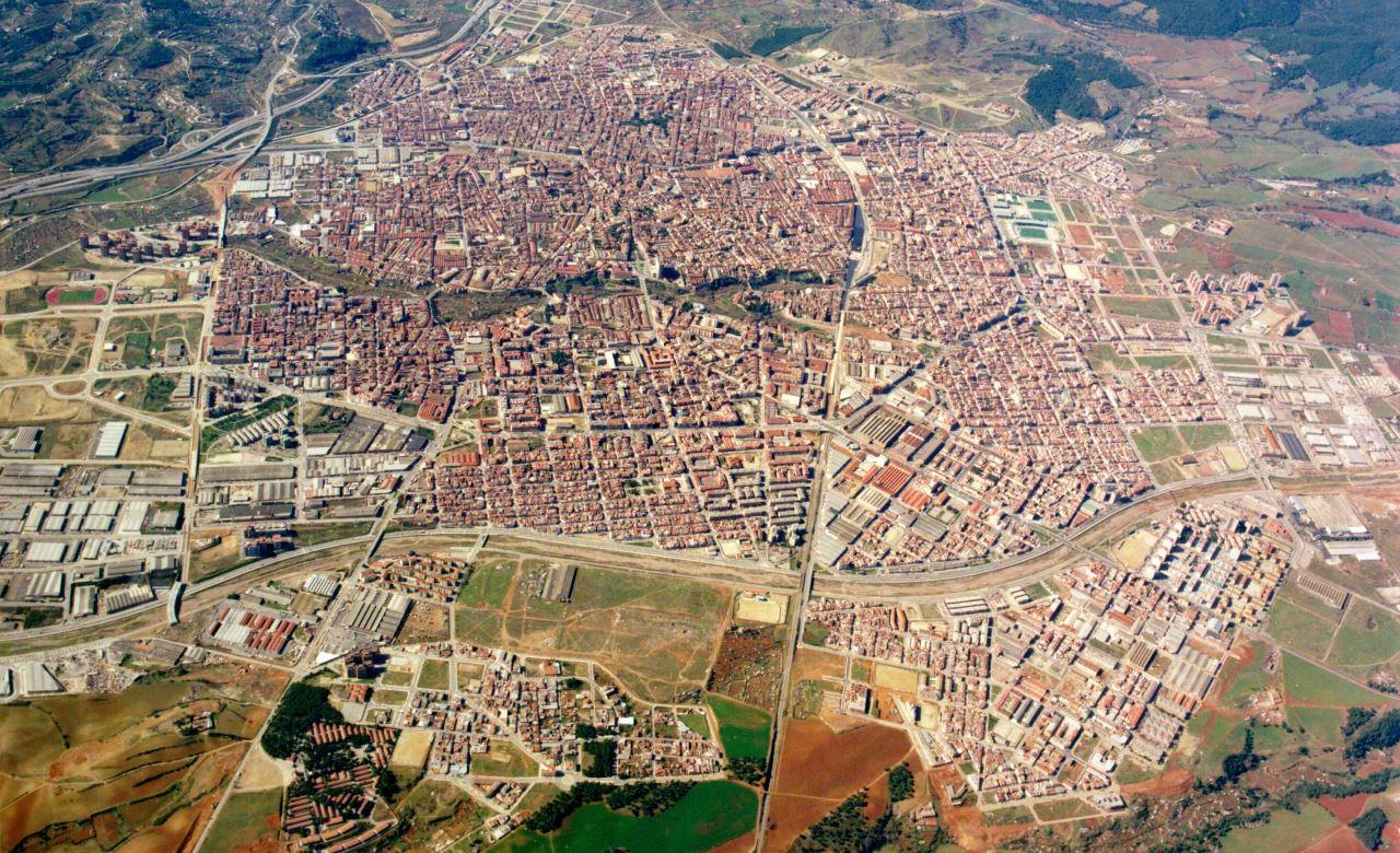 Terrassa vista aérea